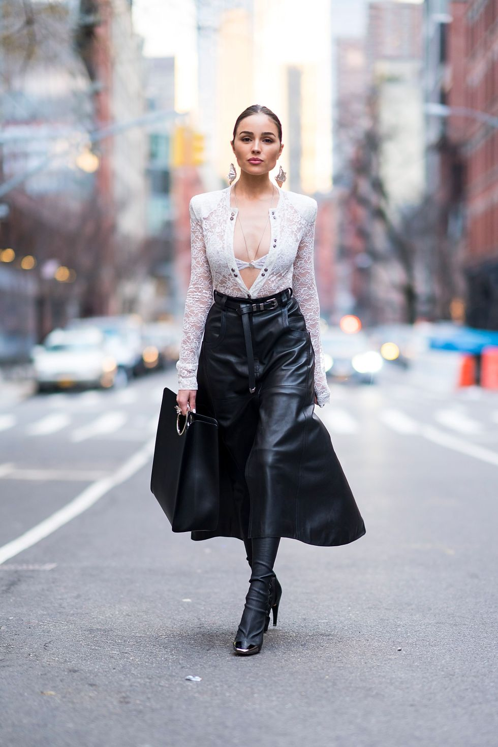 9 Wear It With a Plunging Neckline