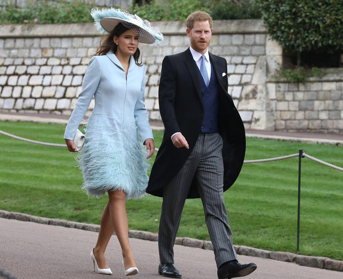 Lady Gabriella Windsor Meghan Marle Thomas Kingston Principe Harry Reina Isabel Ii