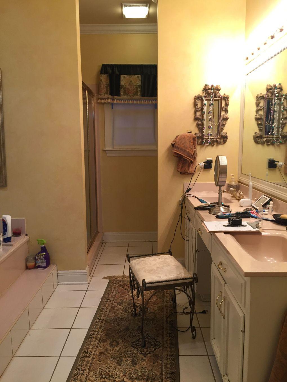 vanity seat before