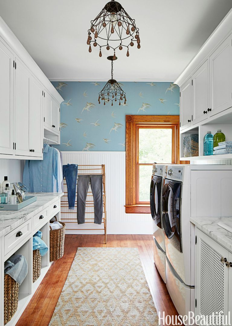 15 Best Small Laundry Room Ideas - Small Laundry Room ... on Small Laundry Ideas  id=26517