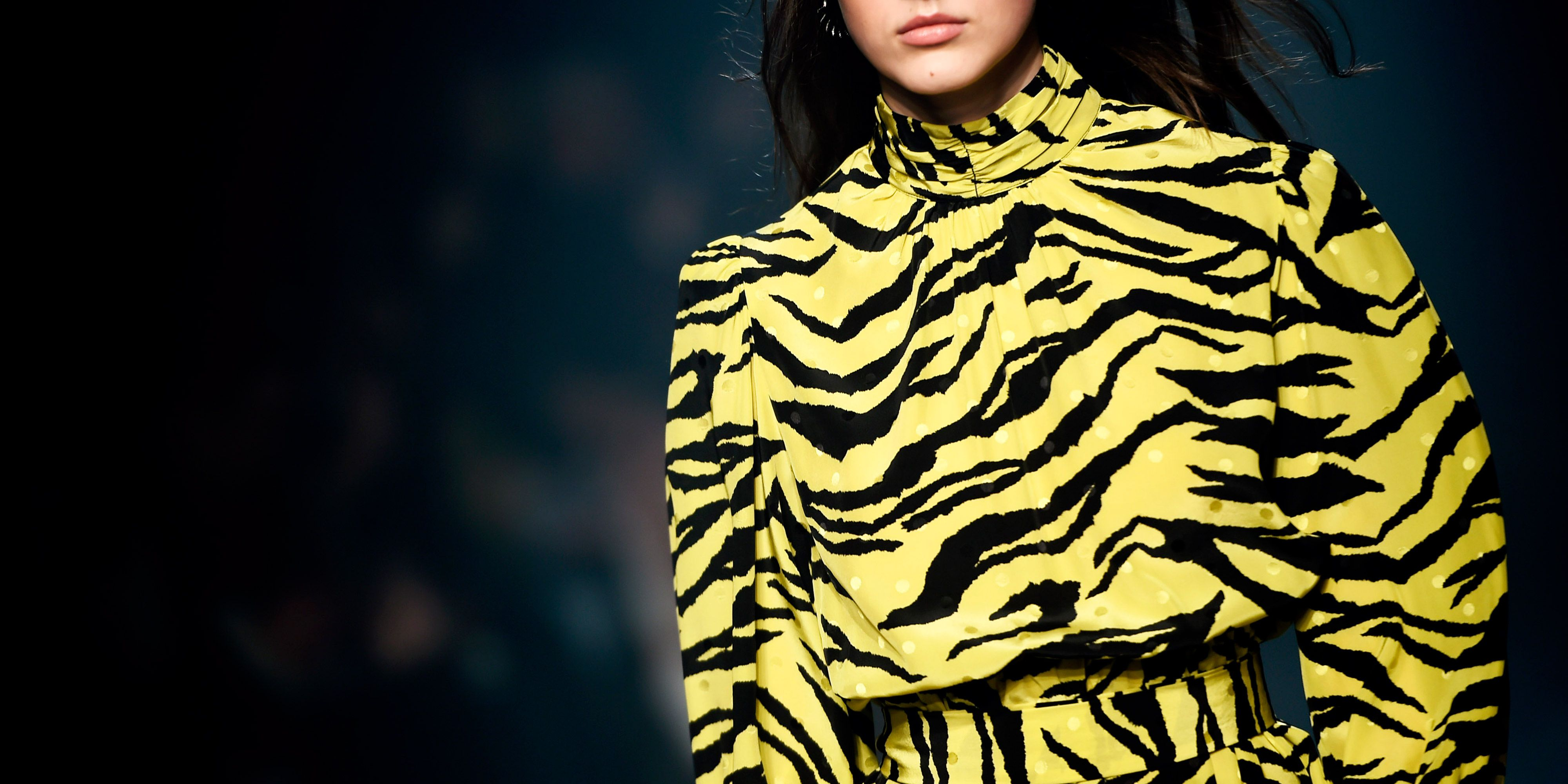 Animal Print Trend For AW18 Autumnwinter 2018 Print Trends