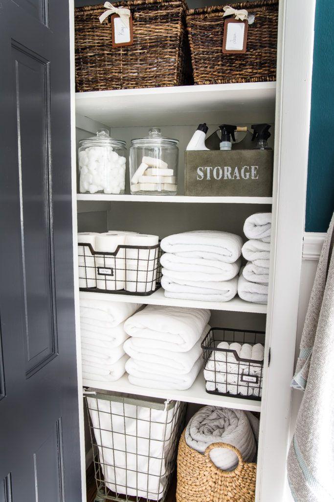 Linen Closet Organization Ideas How To Organize Your Linen Closet