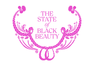 logo the state of black beauty