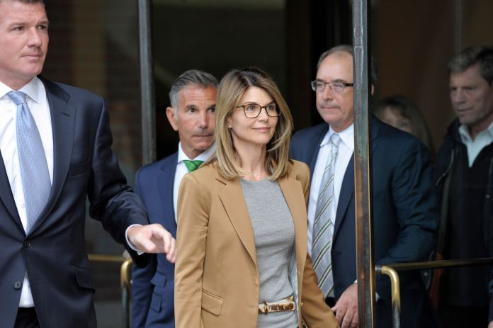 lori loughlin arriving at court
