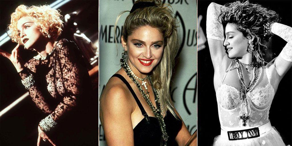 Madonnas 60th Birthday Madonnas Most Iconic Fashion