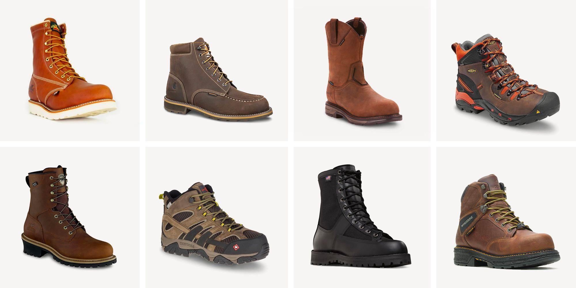Best Work Boots 2020 Steel Toe Work Boots