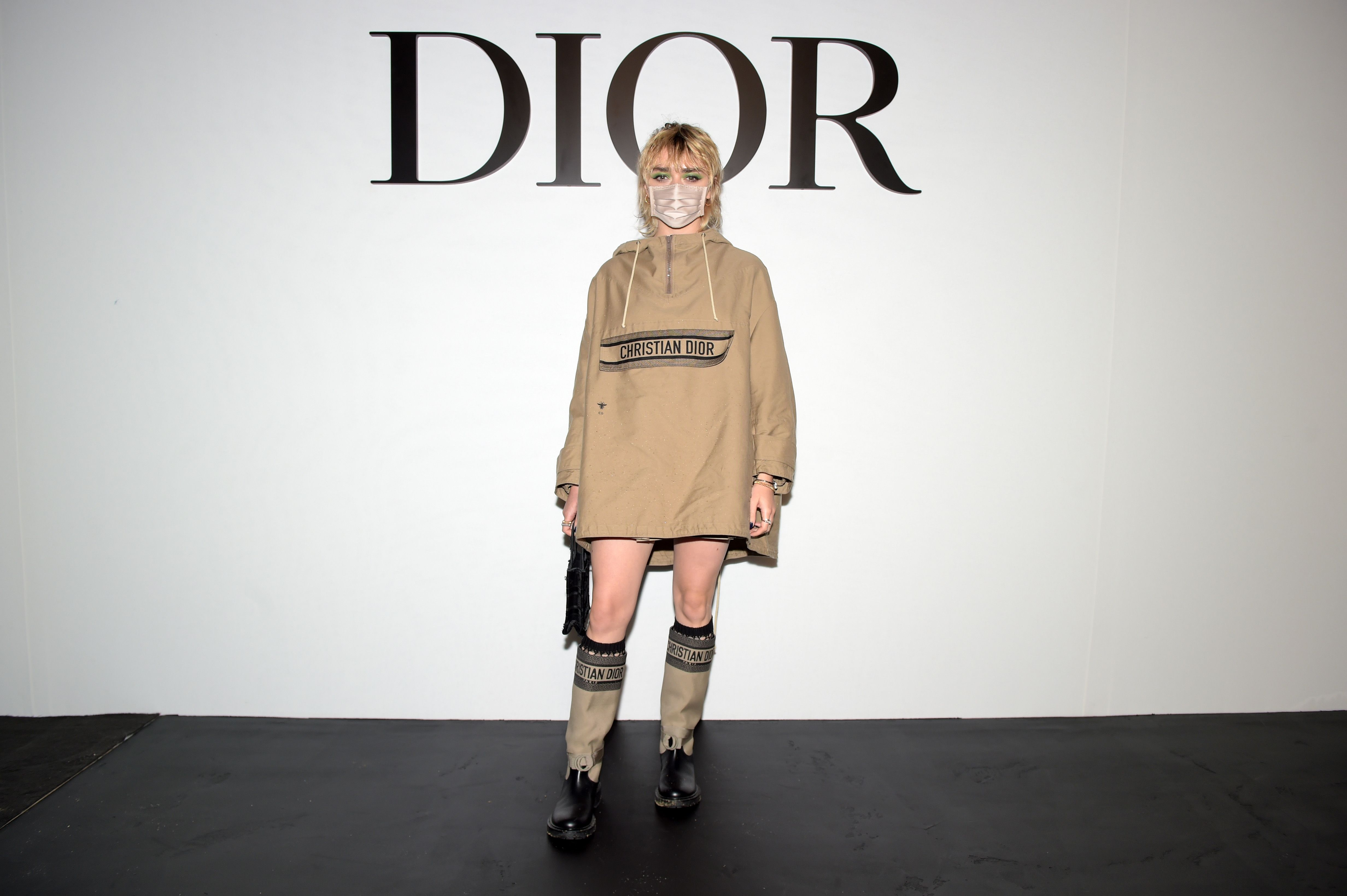 paris, france   september 29 maisie williams attends the dior womenswear springsummer 2021 show as part of paris fashion week on september 29, 2020 in paris, france photo by anthony ghnassiagetty images for dior
