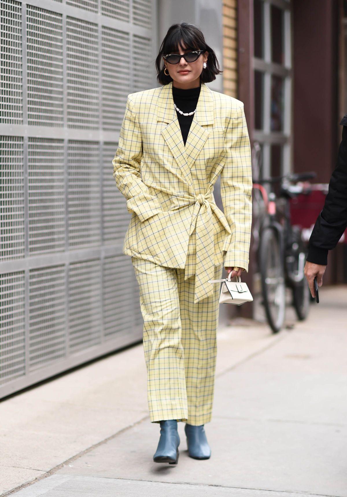 Street Style - New York Fashion Week February 2019 - Day 4