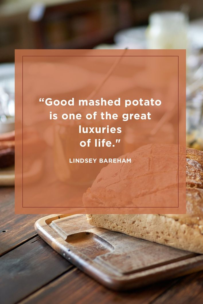 Mashed Potato Funny Thanksgiving Quotes