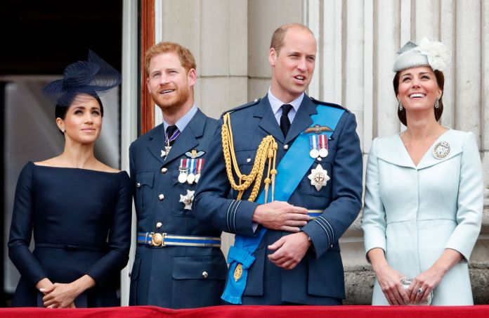 Members of the Royal Family attend events to mark the RAF centenary