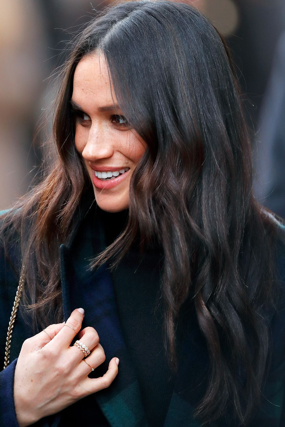 Did Meghan Markle Just Reveal Her Wedding Hairstyle?