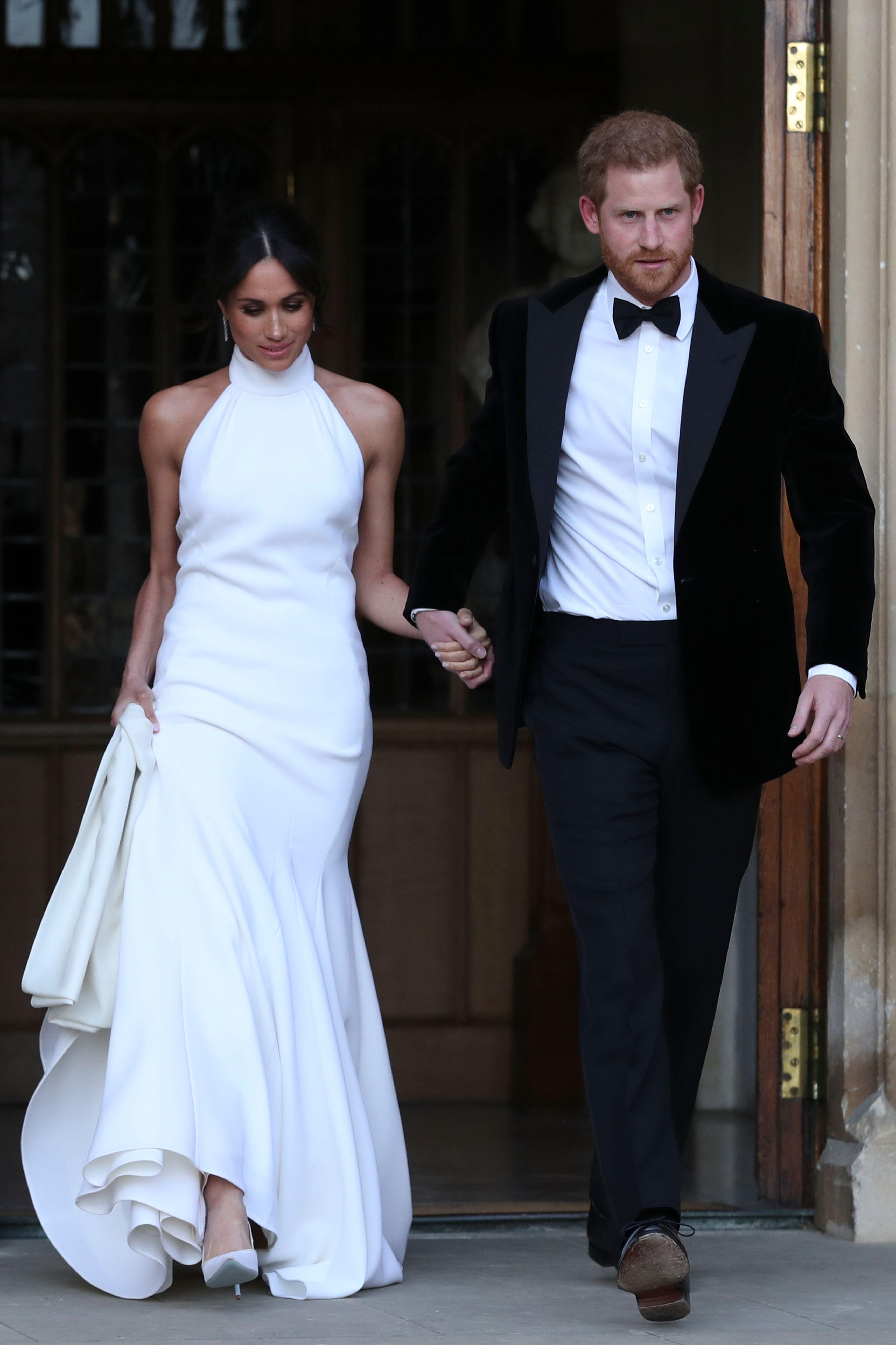 Meghan Markle Second Wedding Dress Photos - Meghan Markle ...
