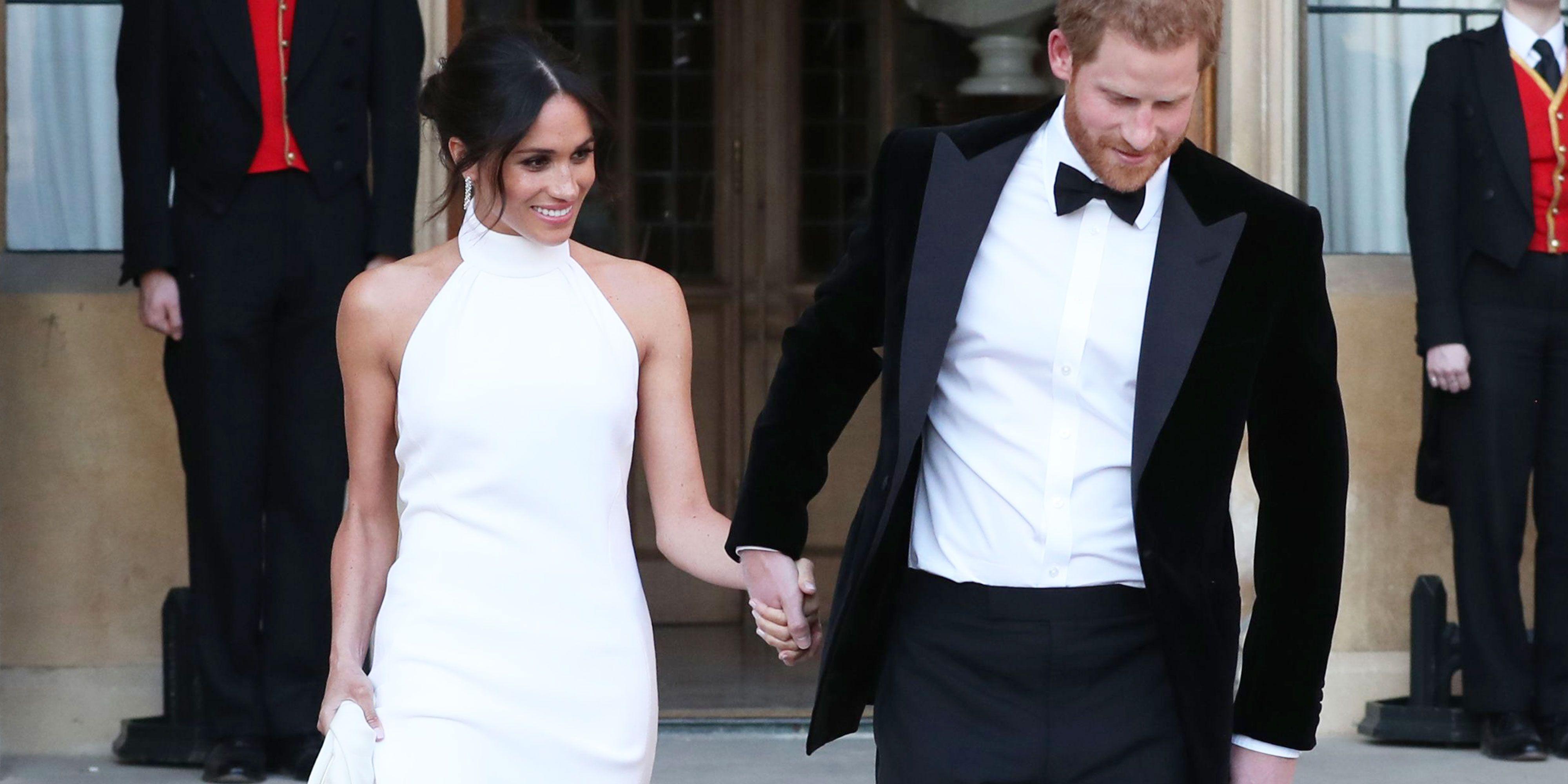See Meghan Markle's Wedding Reception Dress — Meghan ...