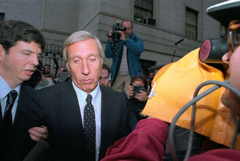 ivan boesky arriving at federal court