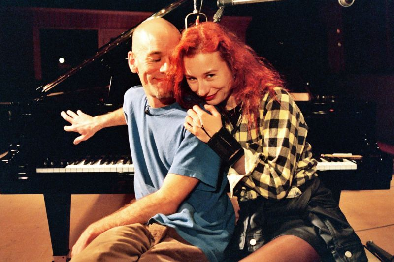 michael stipe and tori amos special shoot