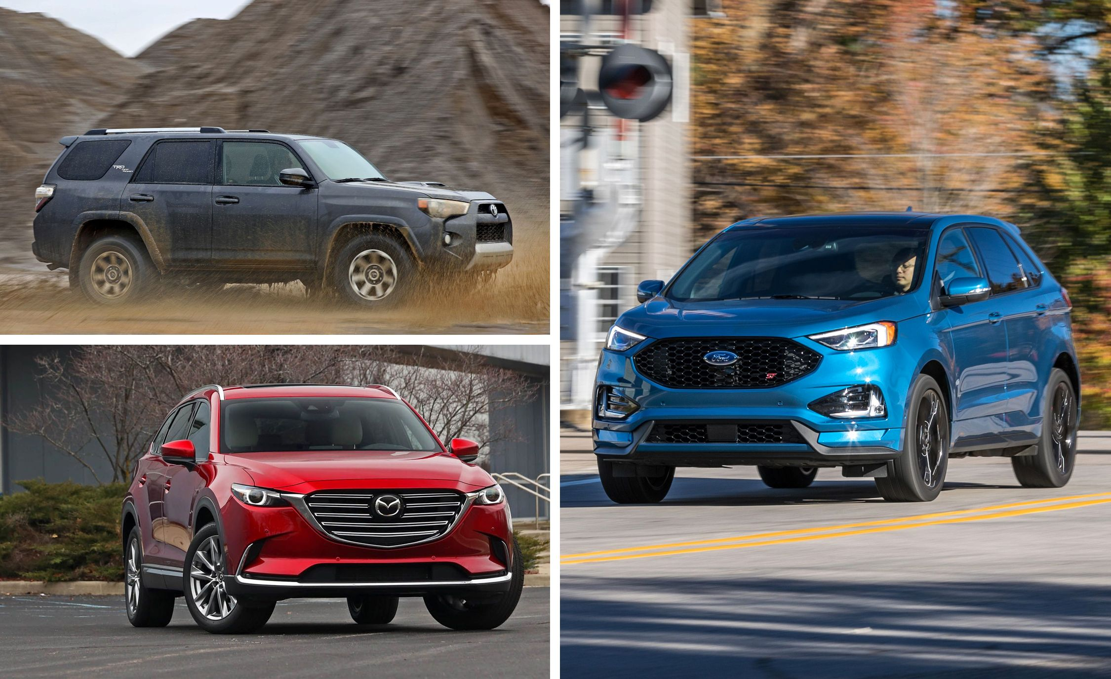Every Mid Size Crossover And Suv Ranked From Worst To Best