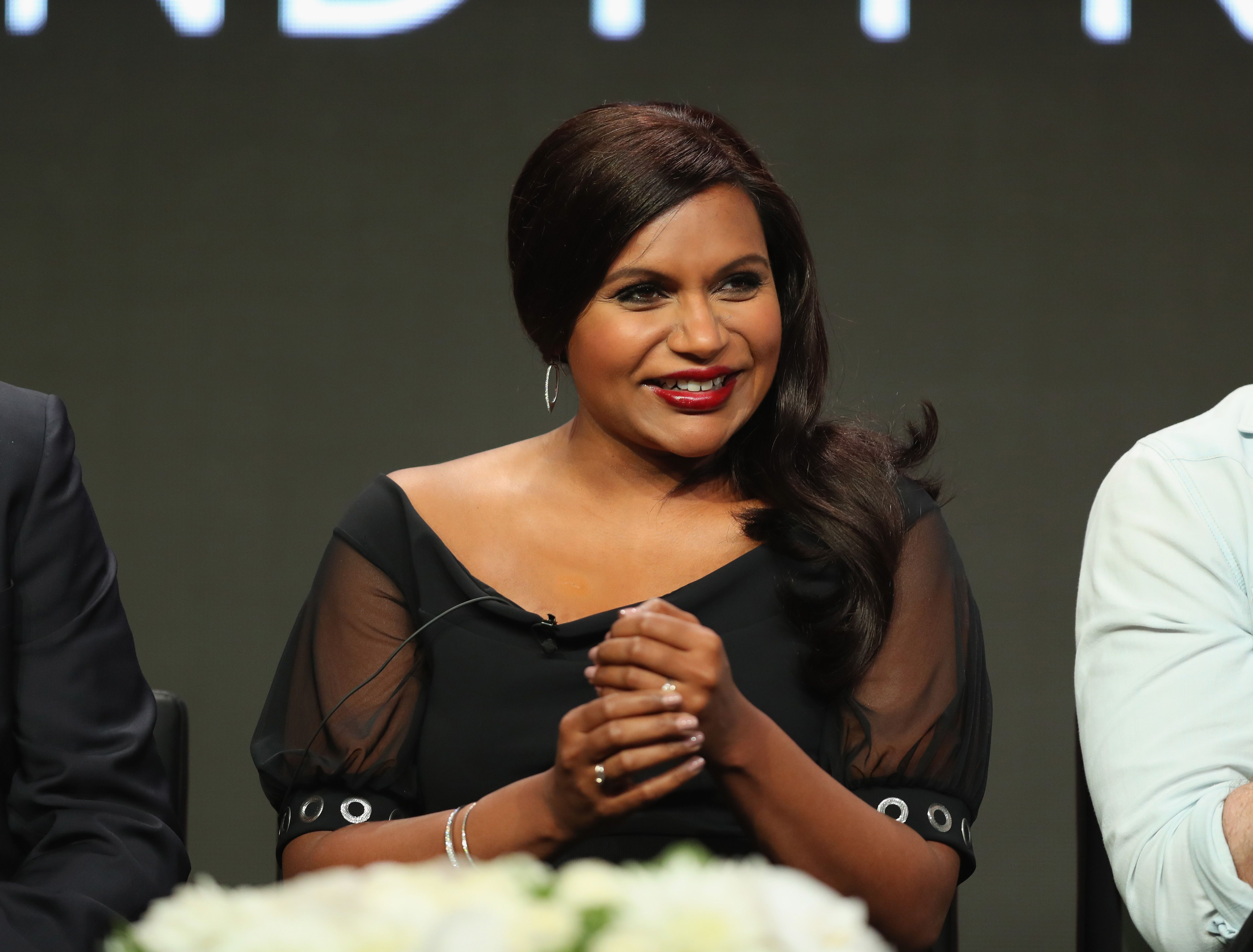 Mindy Kaling Talks About Her Pregnancy For The First Time