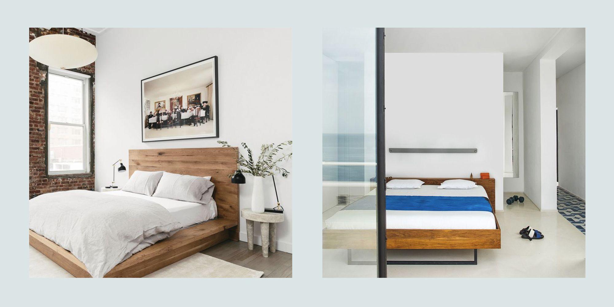 30+ Minimalist Bedroom Decor Ideas - Modern Designs for ... on Bedroom Minimalist Design Ideas  id=54802