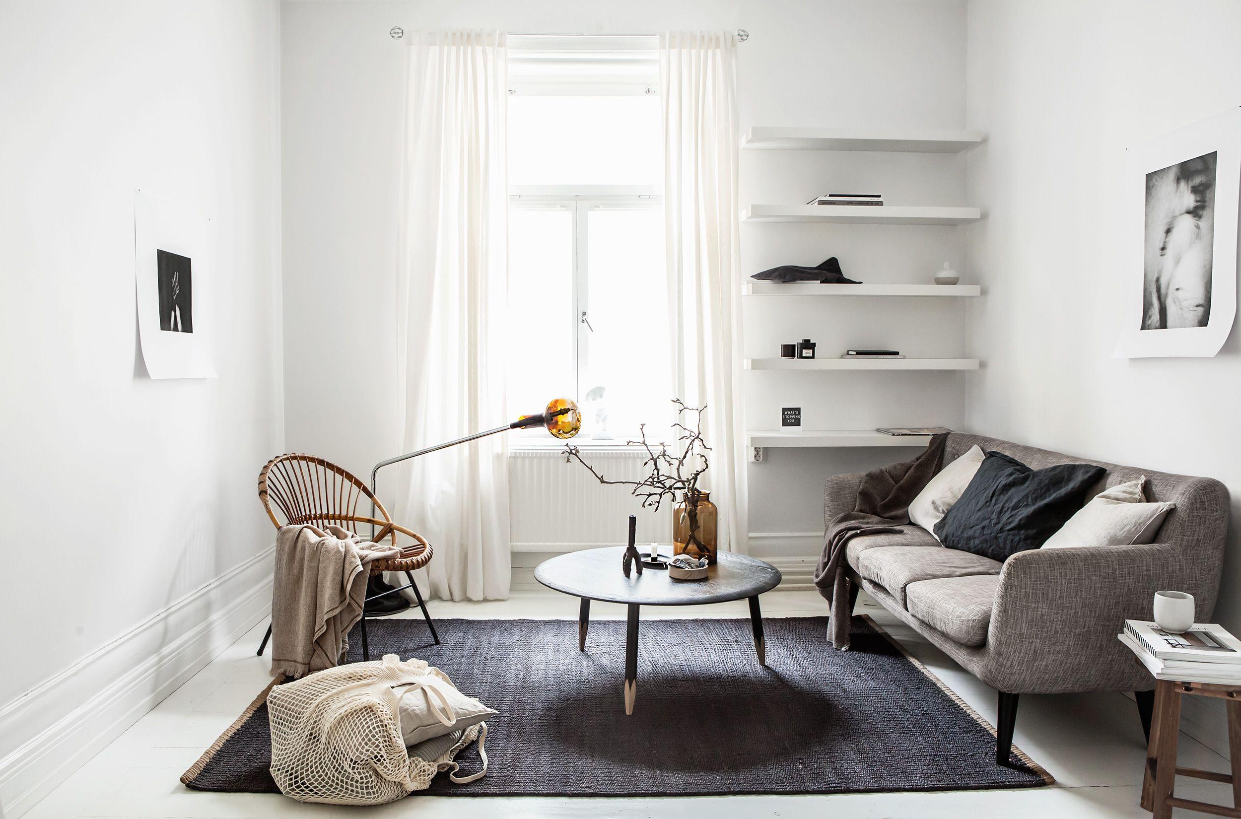 23 Stylish Minimalist Living Room Ideas - Modern Living ... on Minimalist Living Room Design  id=36594