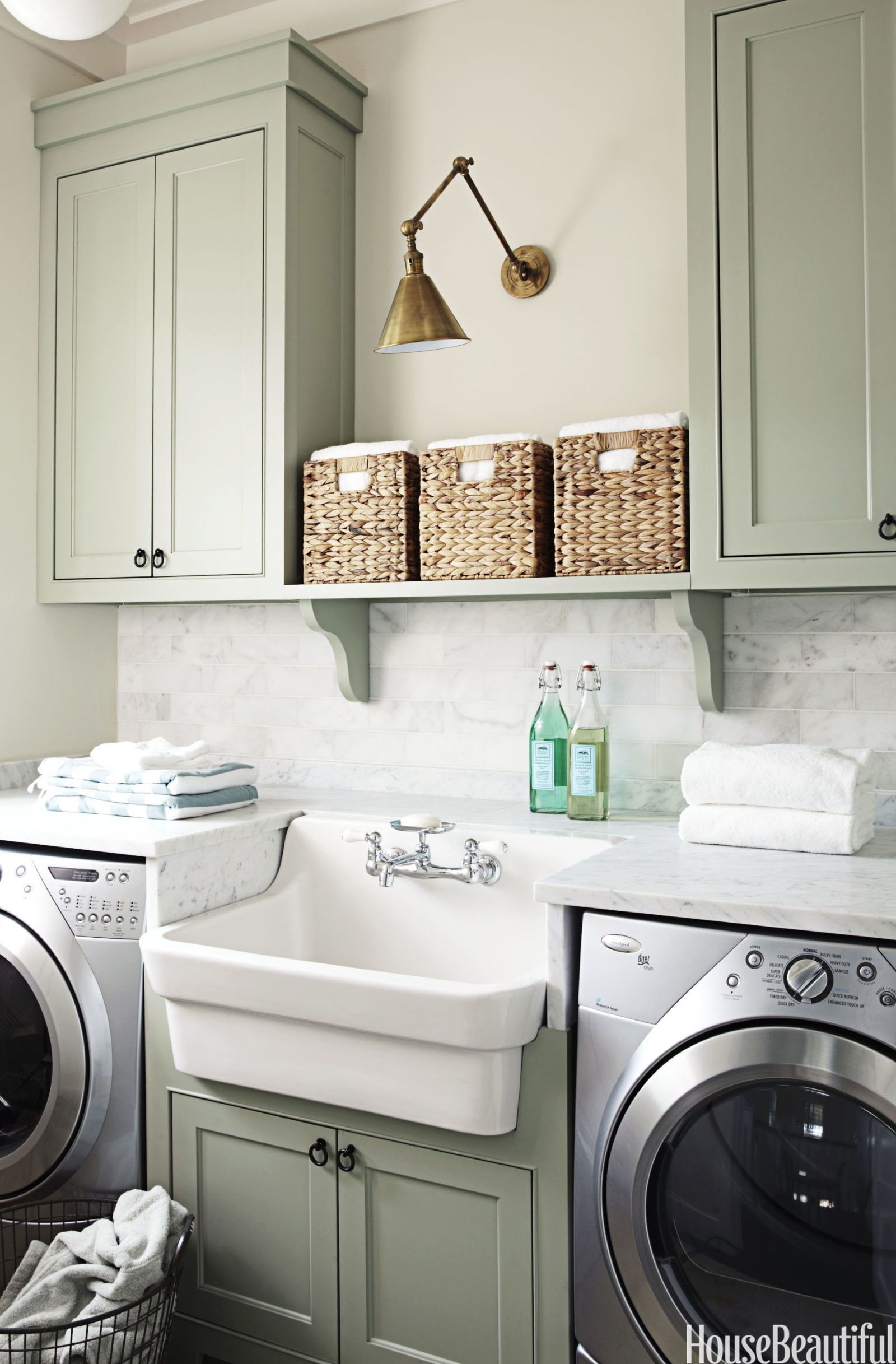 15 small laundry room ideas small laundry room storage tips on best laundry room designs id=23920