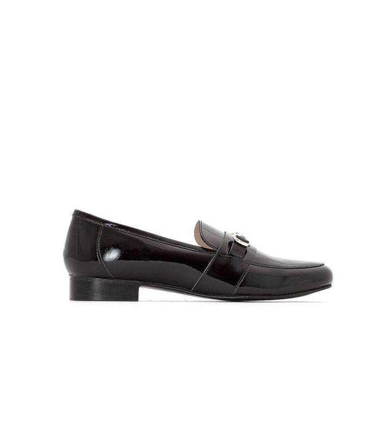 leather loafers, by la redoute