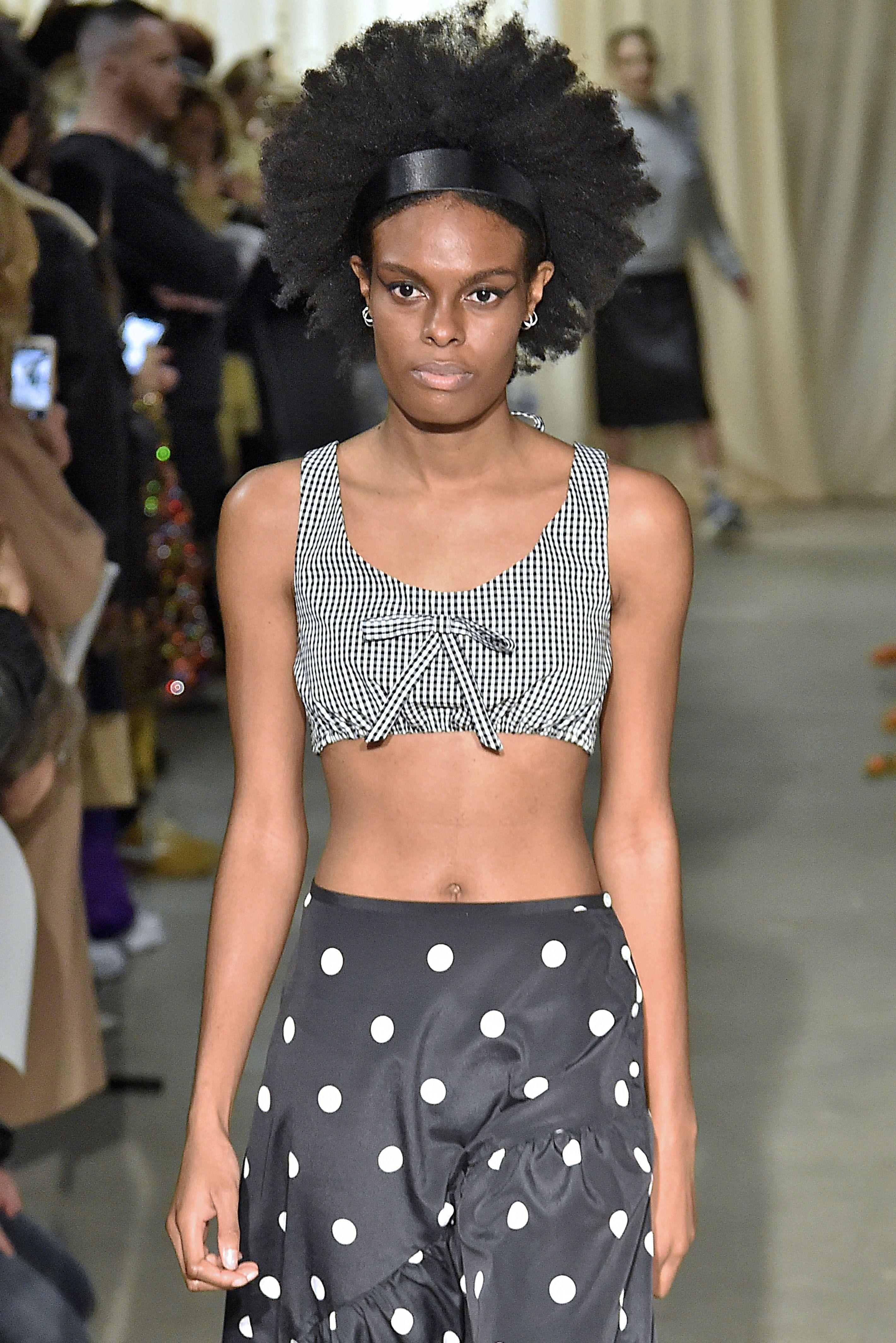 sandy liang   runway   february 2019   new york fashion week