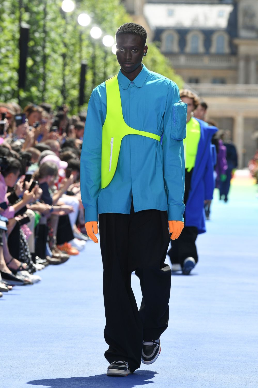 Louis Vuitton: Runway - Paris Fashion Week - Menswear Spring/Summer 2019