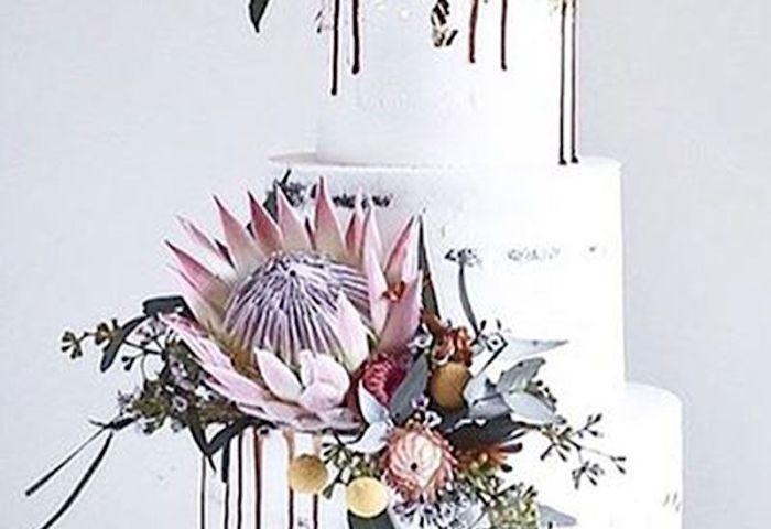 16 Ultra Modern Wedding Cake Ideas To Inspire You