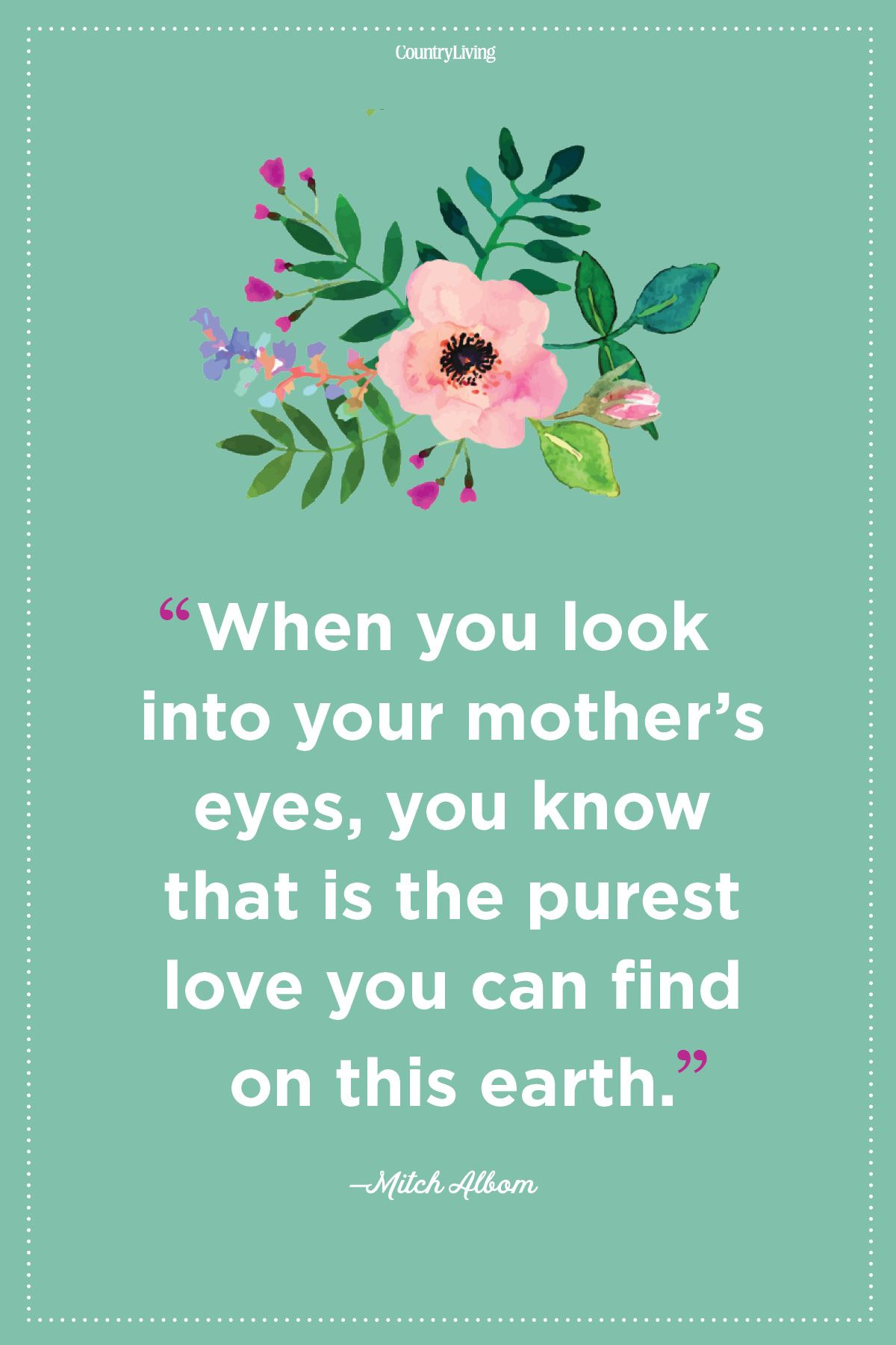 Love Mother Quotes Inspirational