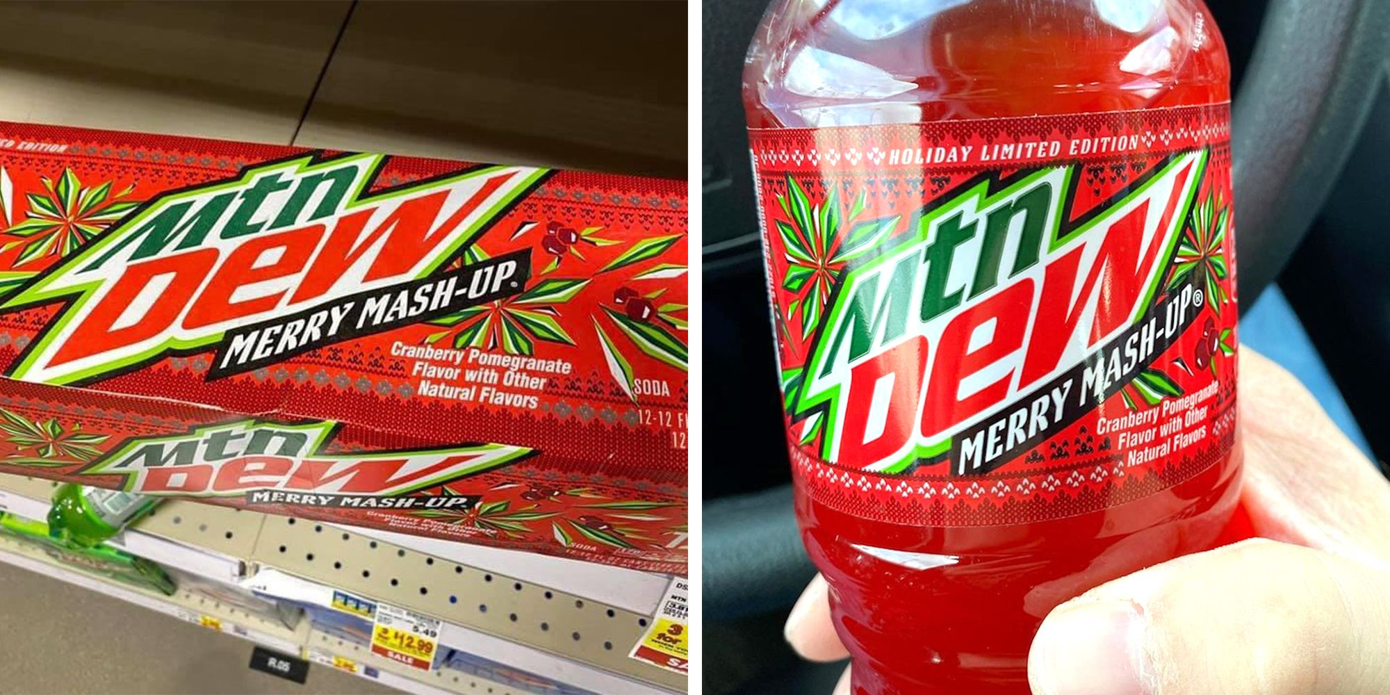 Mountain Dew's Merry Mash-Up Taste Is Again With