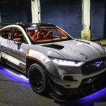 Check Out This 1400 Hp Mustang Mach E At Ford S Sema Reveals Vid