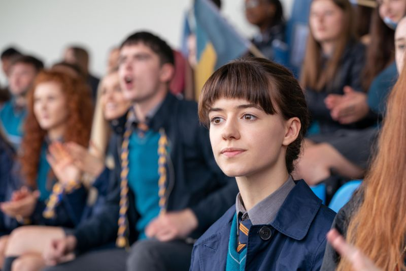 normal people    episode 1   episode 101    in a school in small town west of ireland, connell paul mescal is a well liked, good looking and athletic student marianne daisy edgar jones is a proud, intimidating and unpopular loner who actively avoids her classmates and questions her teachers' authority   an attraction sparks between them when connell comes to collect his mother lorraine sarah greene who works at marianne's house a deep connection grows between the two teenagers – one they cannot stop but that they are determined to conceal from their peers marianne daisy edgar jones, shown photo by enda bowehulu
