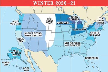 old farmers almanac winter 2020 2021