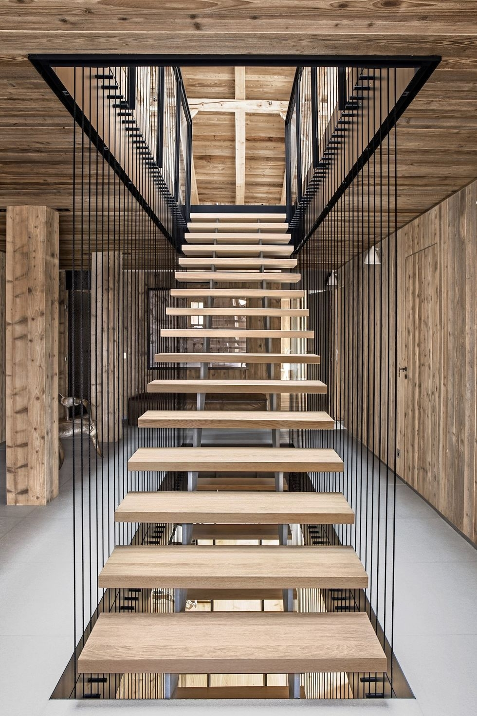 20 Striking Open Stairs Modern Open Staircase Design Ideas | 2 Stairs House Design | Interior | Dream House | Box Type | Basic | Ultra Modern