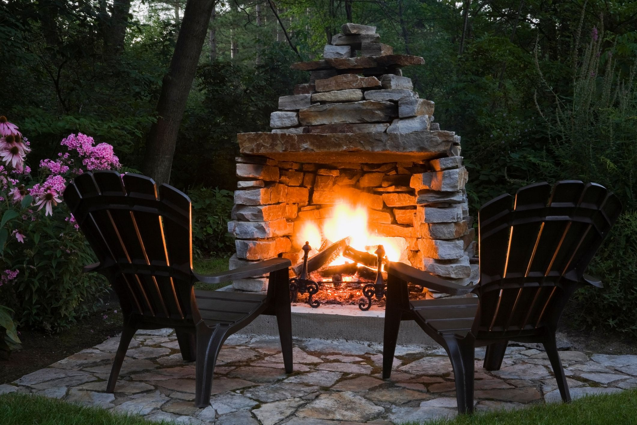 25 diy outdoor fireplaces fire pit
