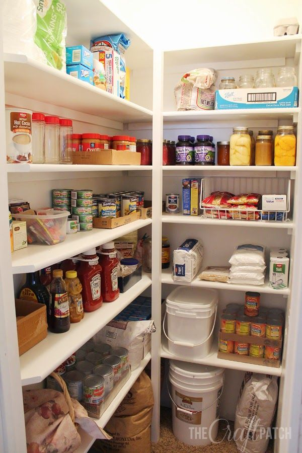 25 Best Kitchen Pantry Organization Ideas How To Organize A Pantry