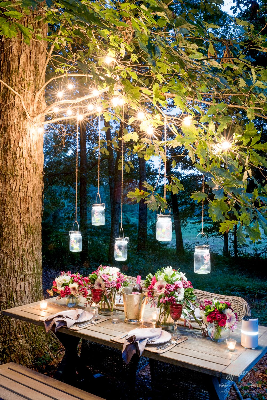 32 Backyard Lighting Ideas - How to Hang Outdoor String Lights on Backyard String Light Designs id=17482