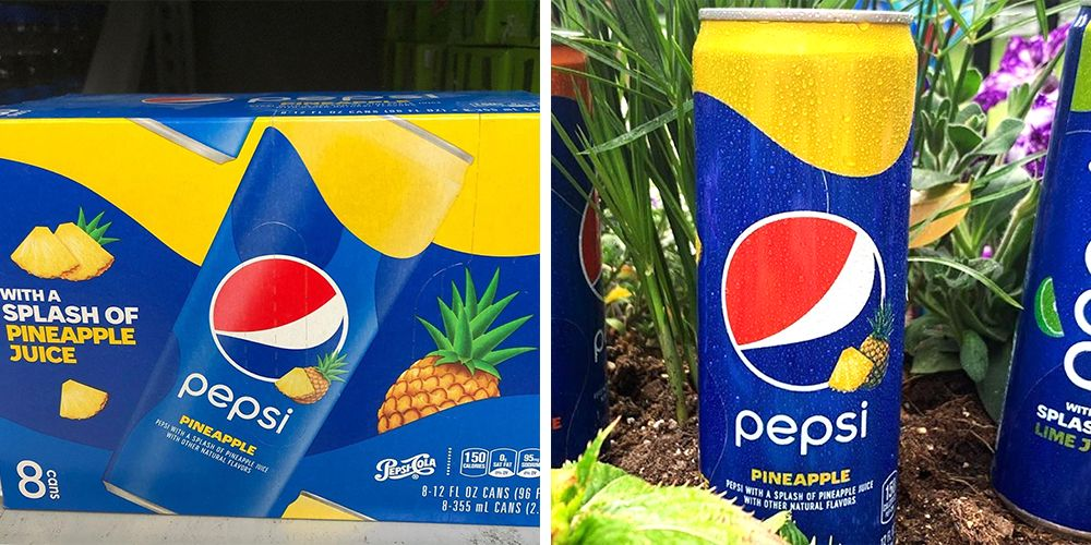 Pepsi Has a New Pineapple Taste That Offers a