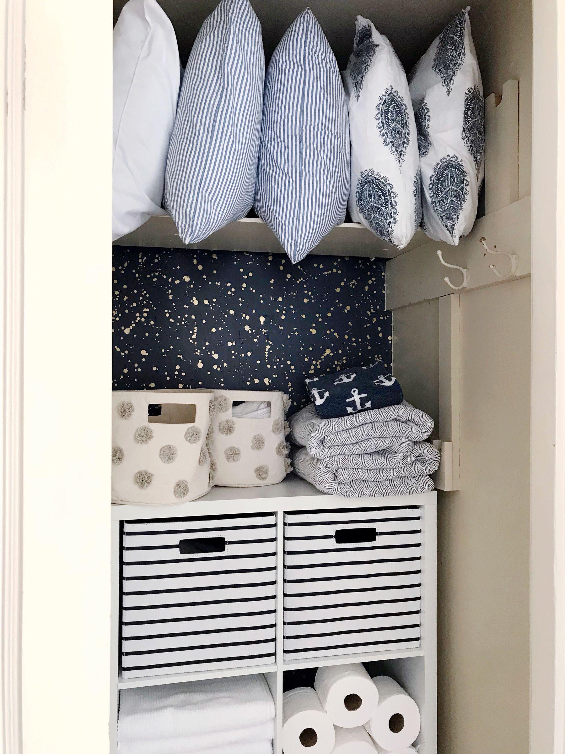 Linen Closet Organization Ideas How To Organize A Linen Closet
