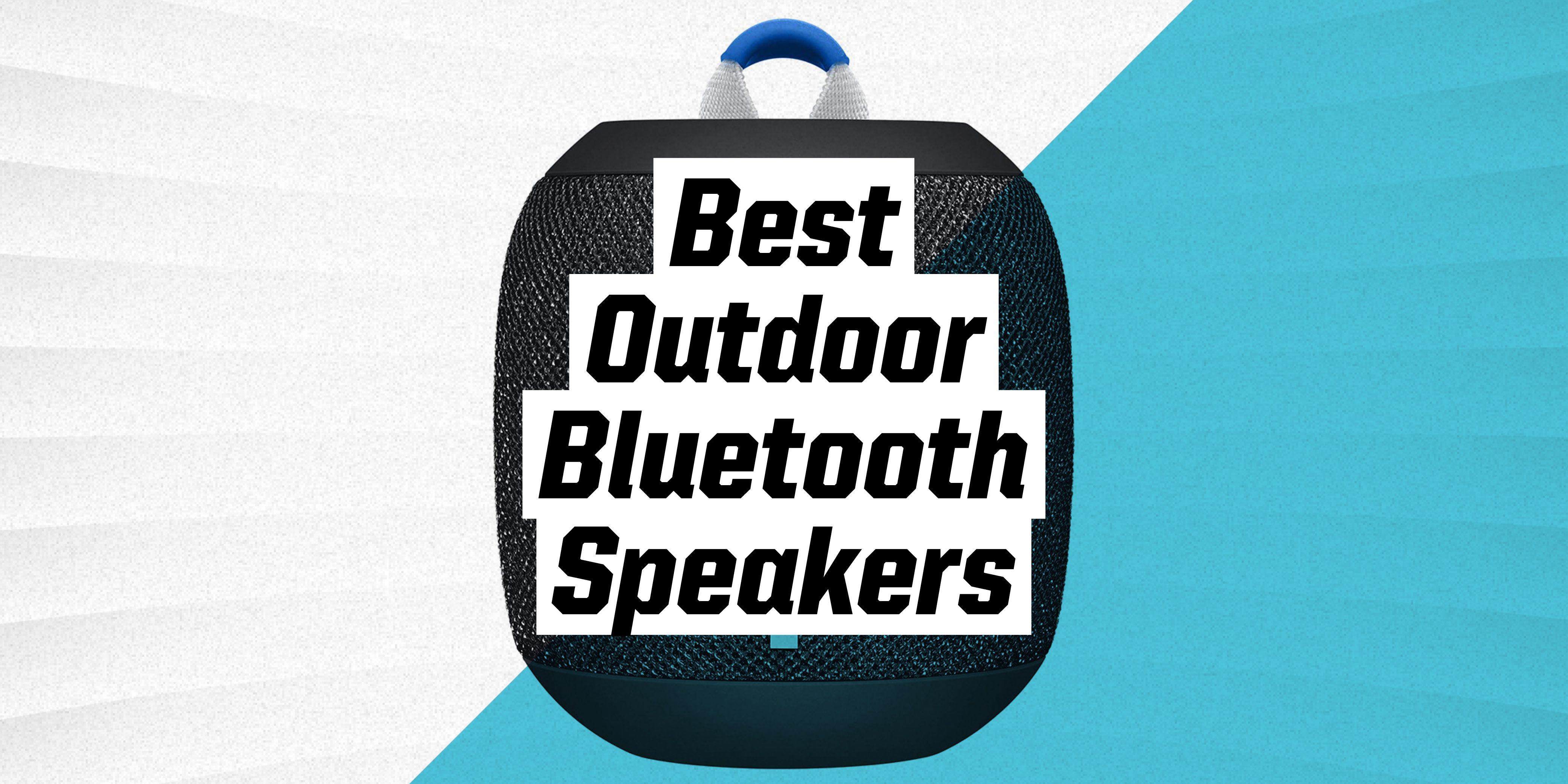 the best outdoor bluetooth speakers to fill your yard or patio with music