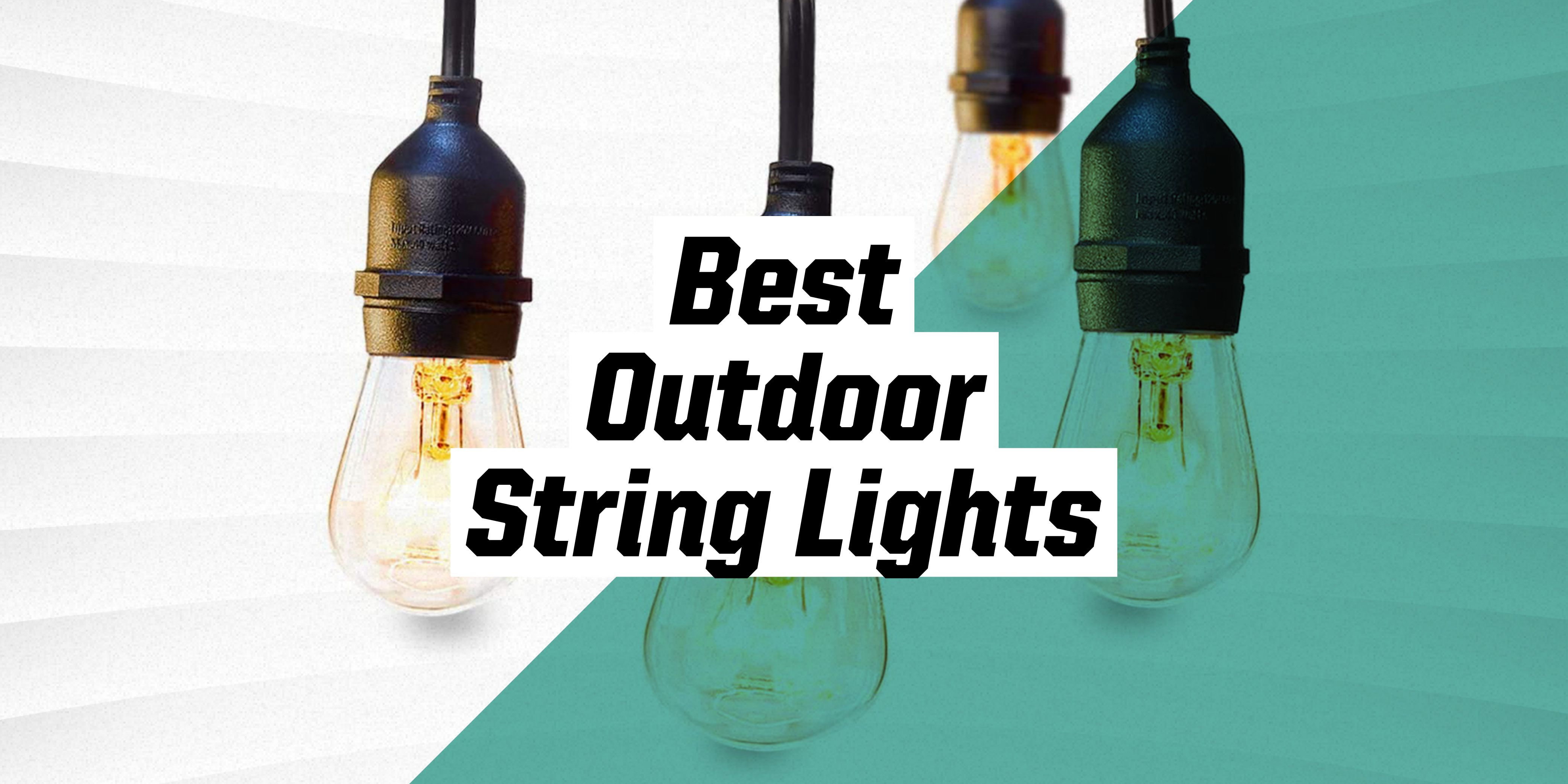 the best outdoor string lights for adding festive vibes to your backyard