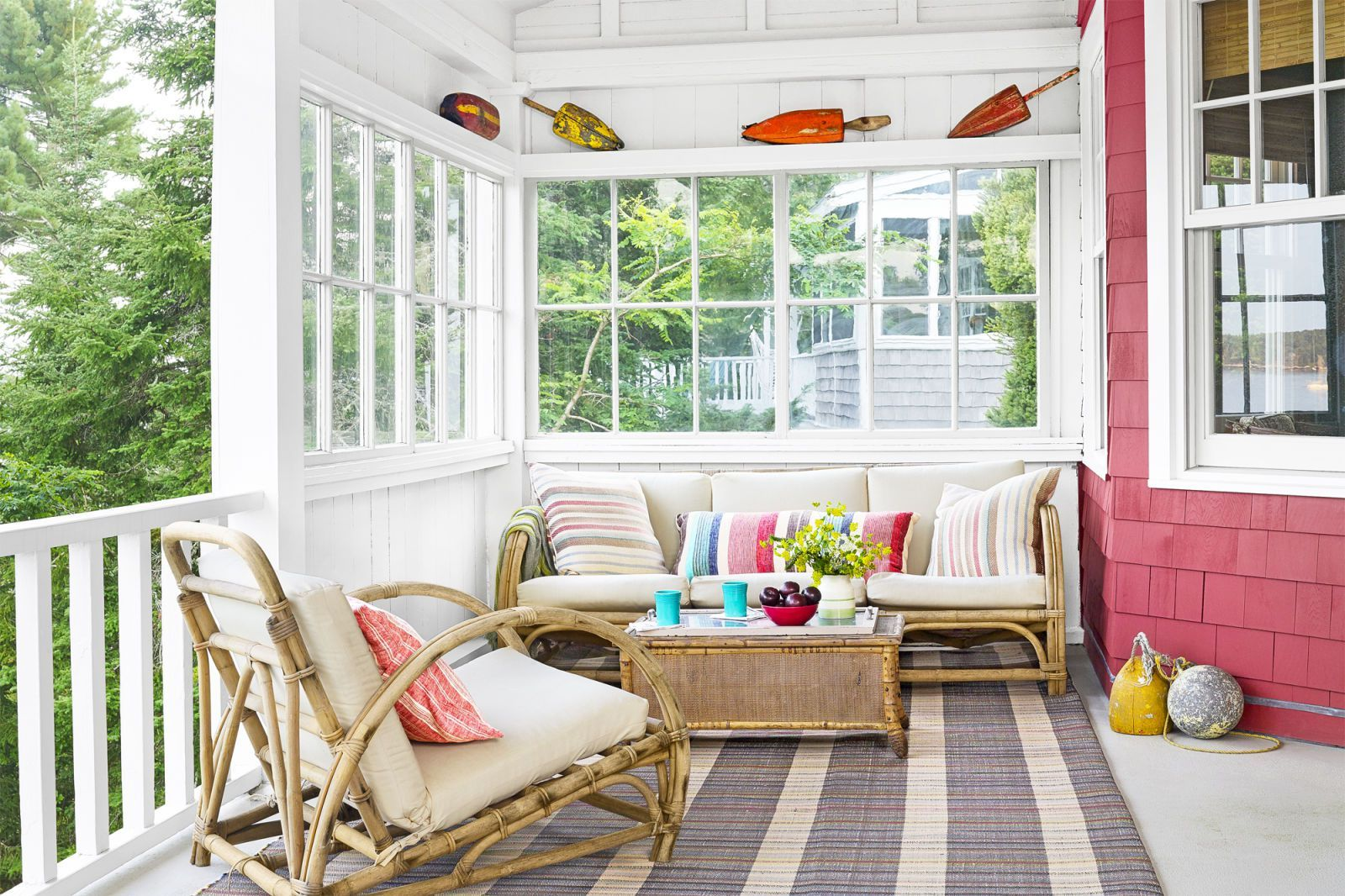 60+ Best Patio Designs for 2018 - Ideas for Front Porch ... on Long Patio Ideas id=66853