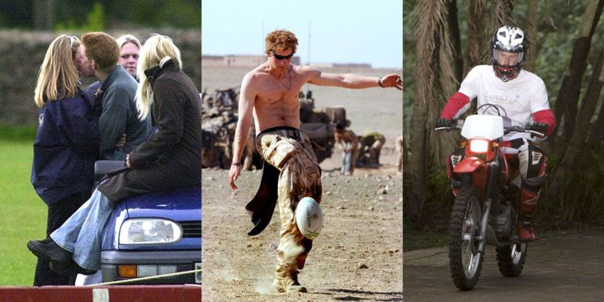 Prince Harry Bad-Boy Scandals - Prince Harry Controversial ...