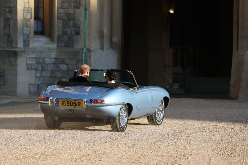 Prince Harry and Meghan Markle's electric car