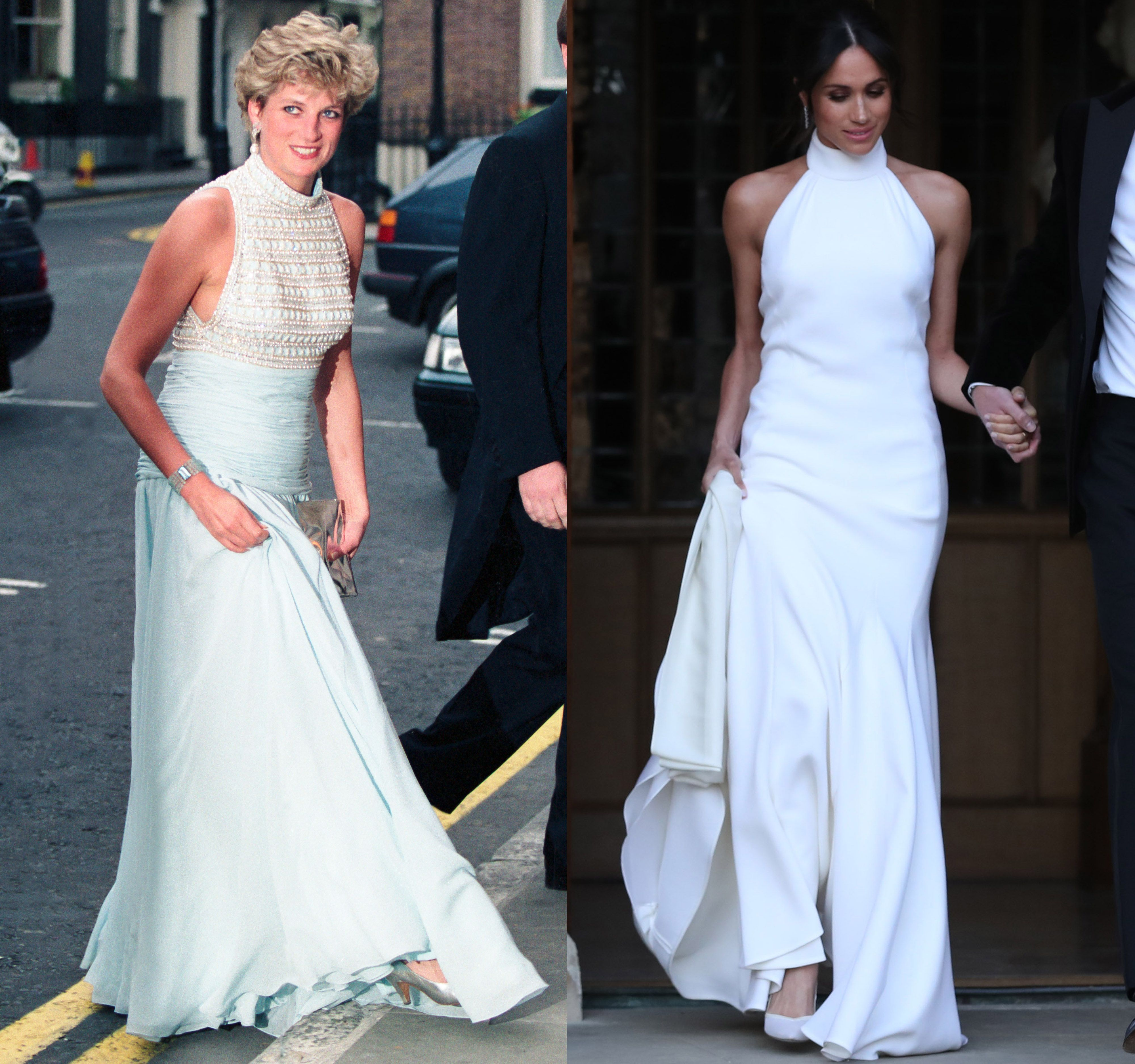 Meghan Markle Heads to Reception in Second Royal Wedding ...
