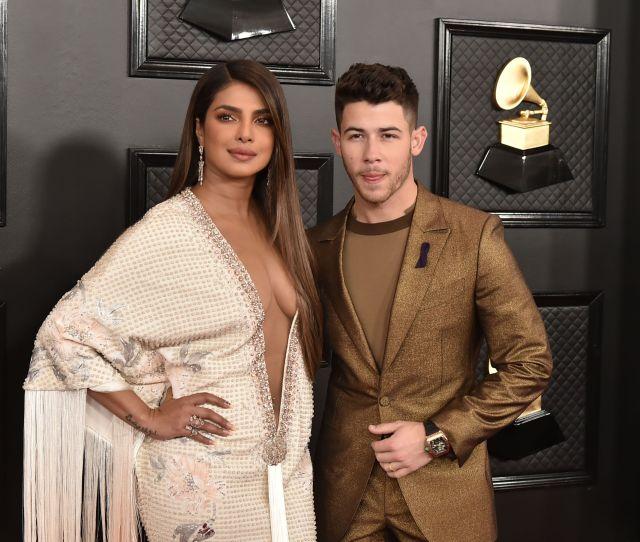 Priyanka Chopra And Nick Jonas Give Fans A Look At Their Spring
