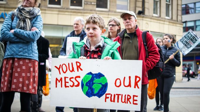 YouthStrike4Climate Takes Place Across The UK