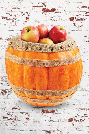 pumpkin crafts for fall burlap barrel