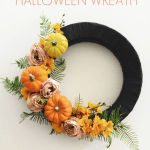 46 Diy Halloween Wreaths How To Make Halloween Door Decorations