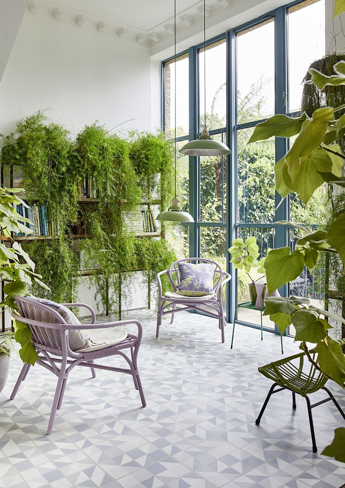 plants in a gorgeous light filled room